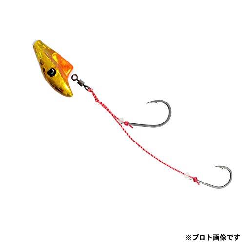ダイワ(DAIWA) テンヤ 紅牙 遊動テンヤSS ラトルダンス 6号 ケイムラ オレンジ/金