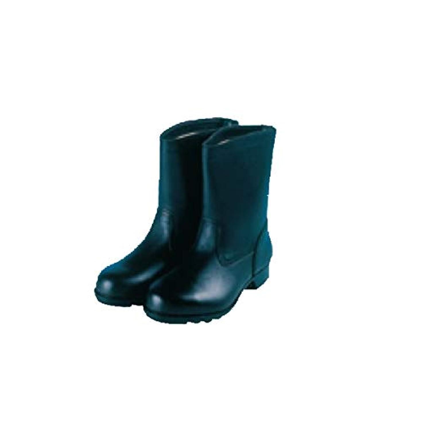 労働者雑多な呼びかける安全?サイン8 安全靴 安全半長靴 3373 サイズ:27.0cm