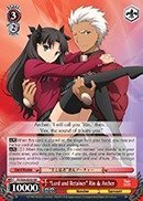 Weiss Schwarz–Lord and Retainer Rin & Archer–FS / s36-e050–RR ( FS / s36-e050)–Fate / stay Night [ Unlimited Blade Works ] Vol 2ブースター
