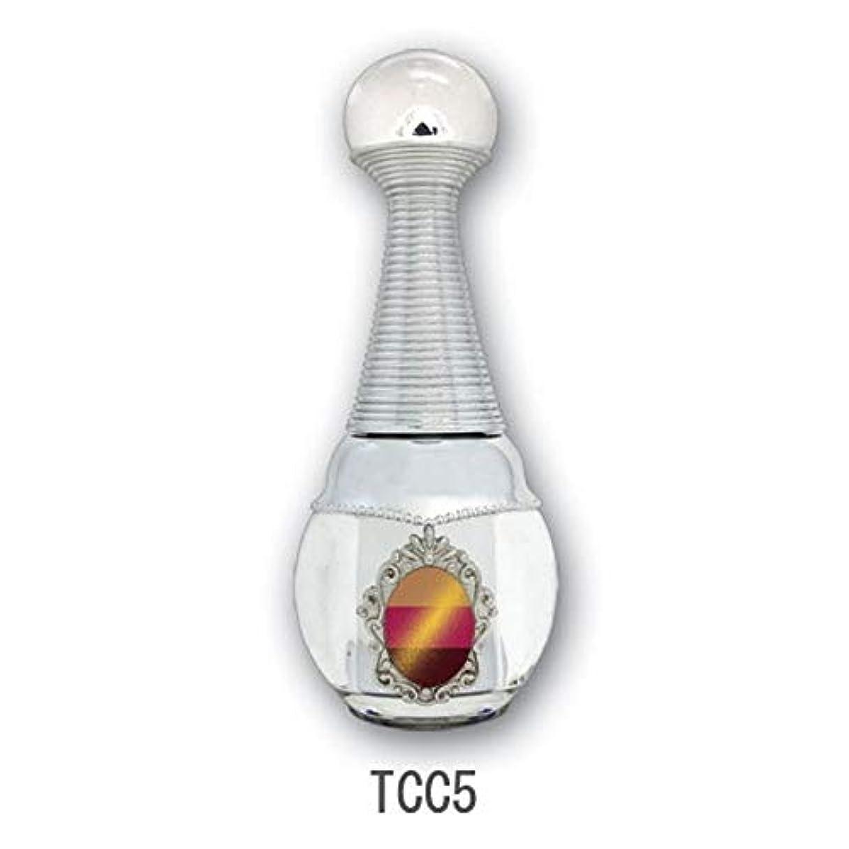 彫刻逆に多用途KENZICO (ケンジコ) Triple Cat's Eye Gel 【TCC5】 トリプルキャッツアイ 10m プロ用 3つの色に変わる キャッツアイジェル