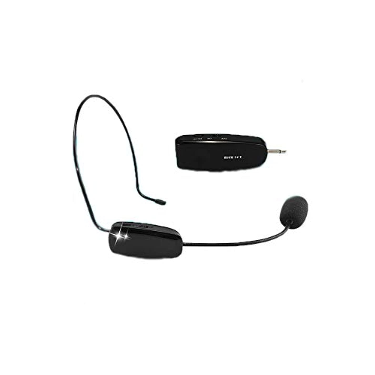 バウンス個人的な車両Taidacent 1チャンネル NP11 耳装着型 マイク 外部 電源 2.4 g ワイヤレス マイク ワイヤレス uhf