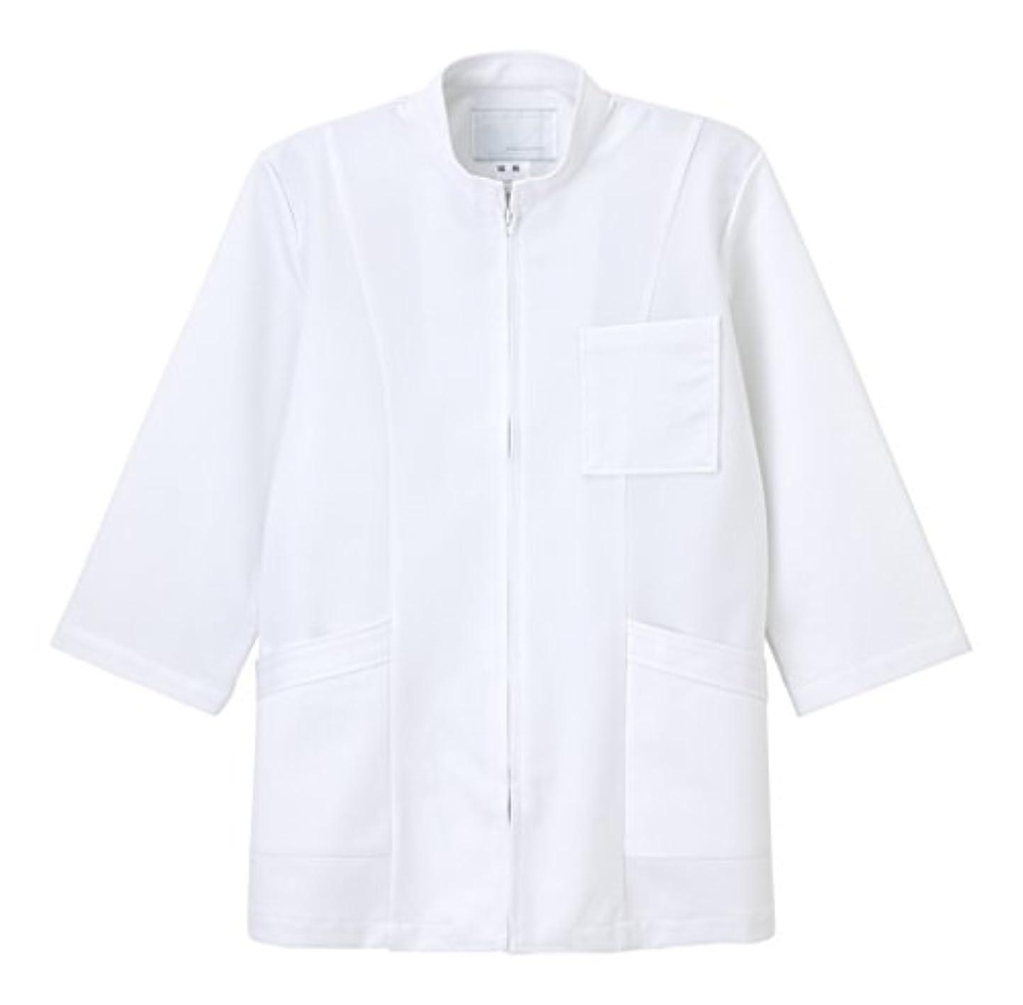 下る詐欺ファンドナガイレーベン NAGAILEBEN 男子上衣8分袖 US-86(LL)ホワイト