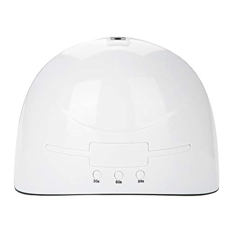 爆発ジレンマ少数LEDネイルドライヤー 36w USB式 硬化用 三つタイマー ジェルネイル用 設定可能 便携 家用 美容院 ホワイト (white)