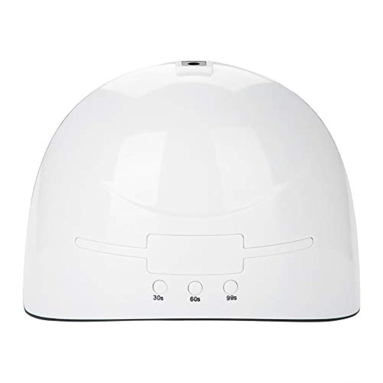 何故なの俳優子供時代LEDネイルドライヤー 36w USB式 硬化用 三つタイマー ジェルネイル用 設定可能 便携 家用 美容院 ホワイト (white)