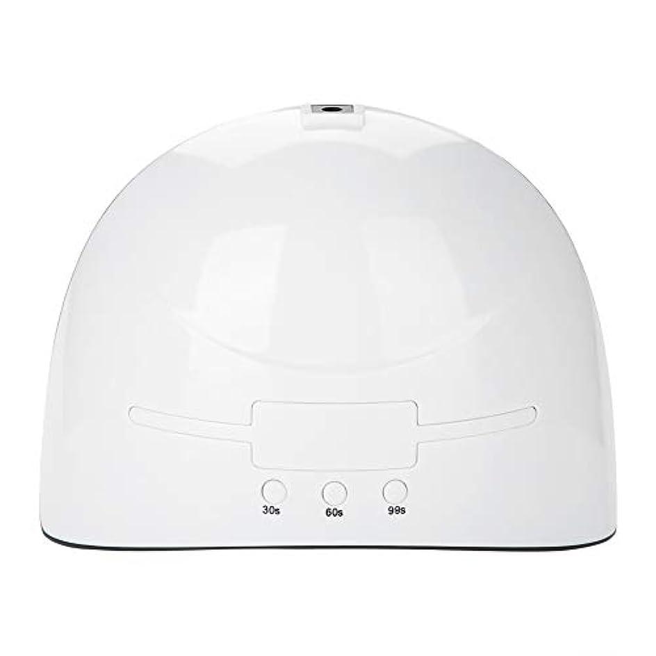 スパン元気な正義LEDネイルドライヤー 36w USB式 硬化用 三つタイマー ジェルネイル用 設定可能 便携 家用 美容院 ホワイト (white)