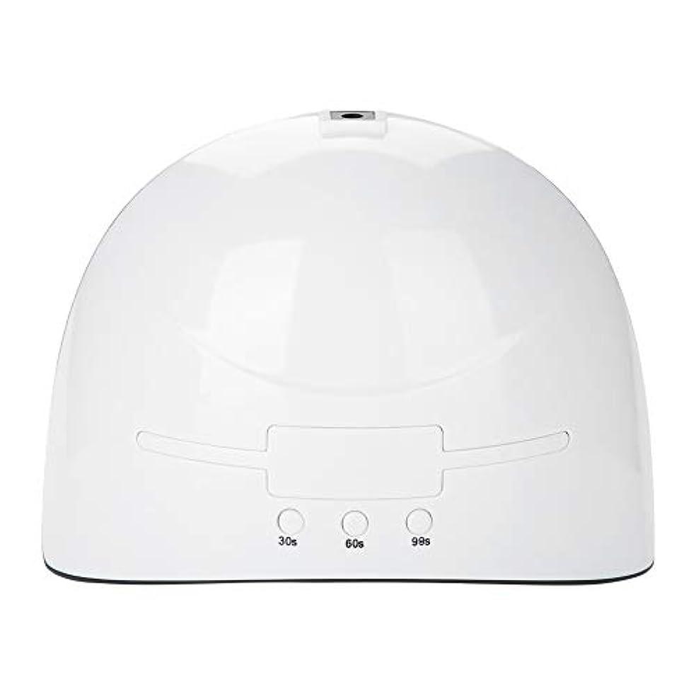 アイドルなしでコンソールLEDネイルドライヤー 36w USB式 硬化用 三つタイマー ジェルネイル用 設定可能 便携 家用 美容院 ホワイト (white)