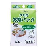 (まとめ) アートナップ お茶パック (ひも付) 1パック(60枚) 【×20セット】