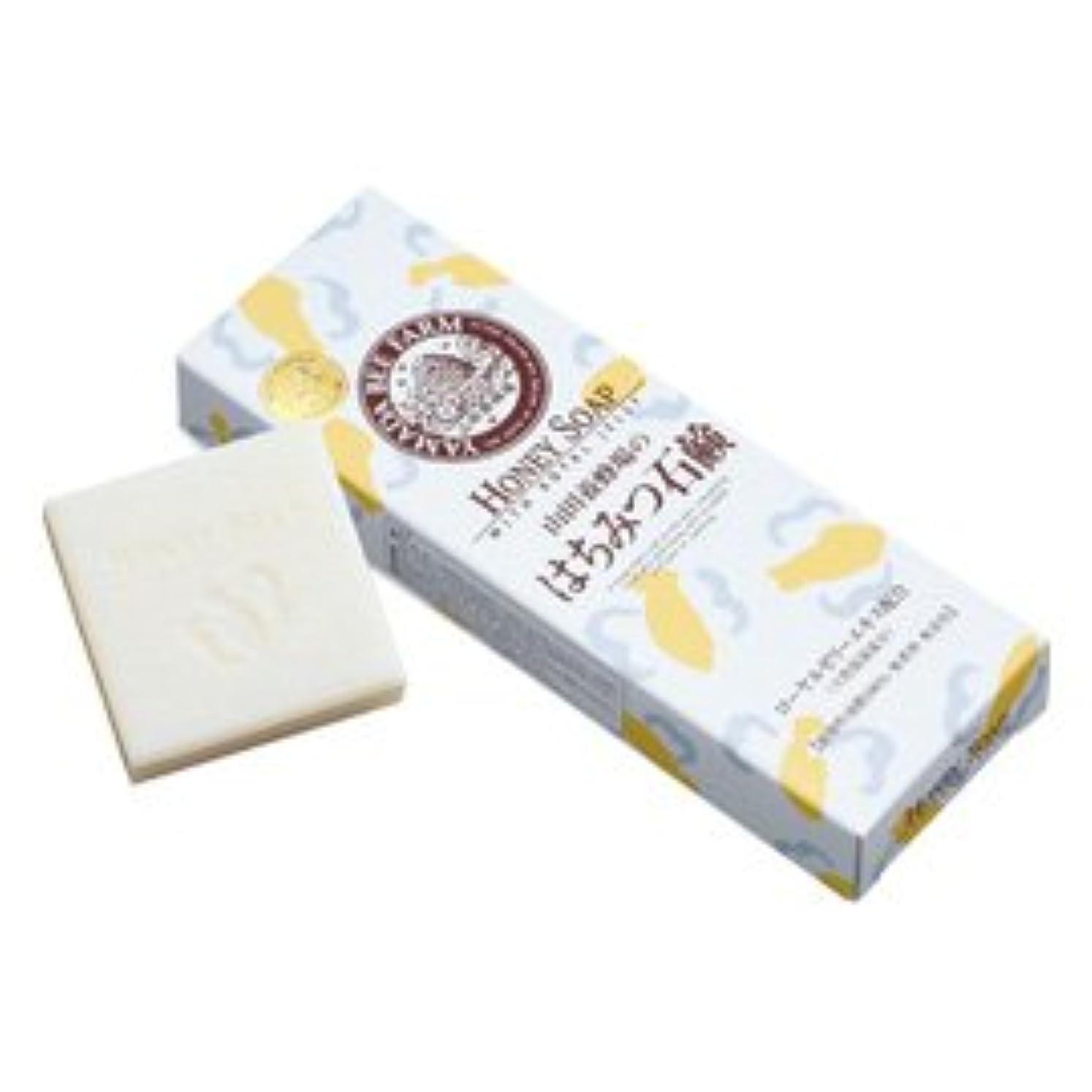突然ピンチ鉱石はちみつ石鹸 60g×3個入/Honey Soap