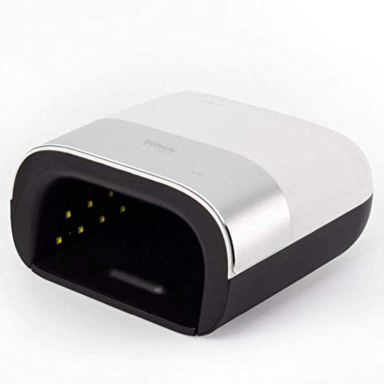 間隔王朝ソロネイルドライヤーネイルドライヤースマート2.0 48W UV LEDランプネイルスマートタイマーメモリ見えないデジタルタイマーディスプレイネイル乾燥機、画像としての色