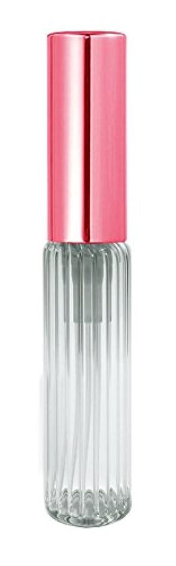 広告主電池ばかげた60503 グラスアトマイザー ストライプ ピンクキャップ