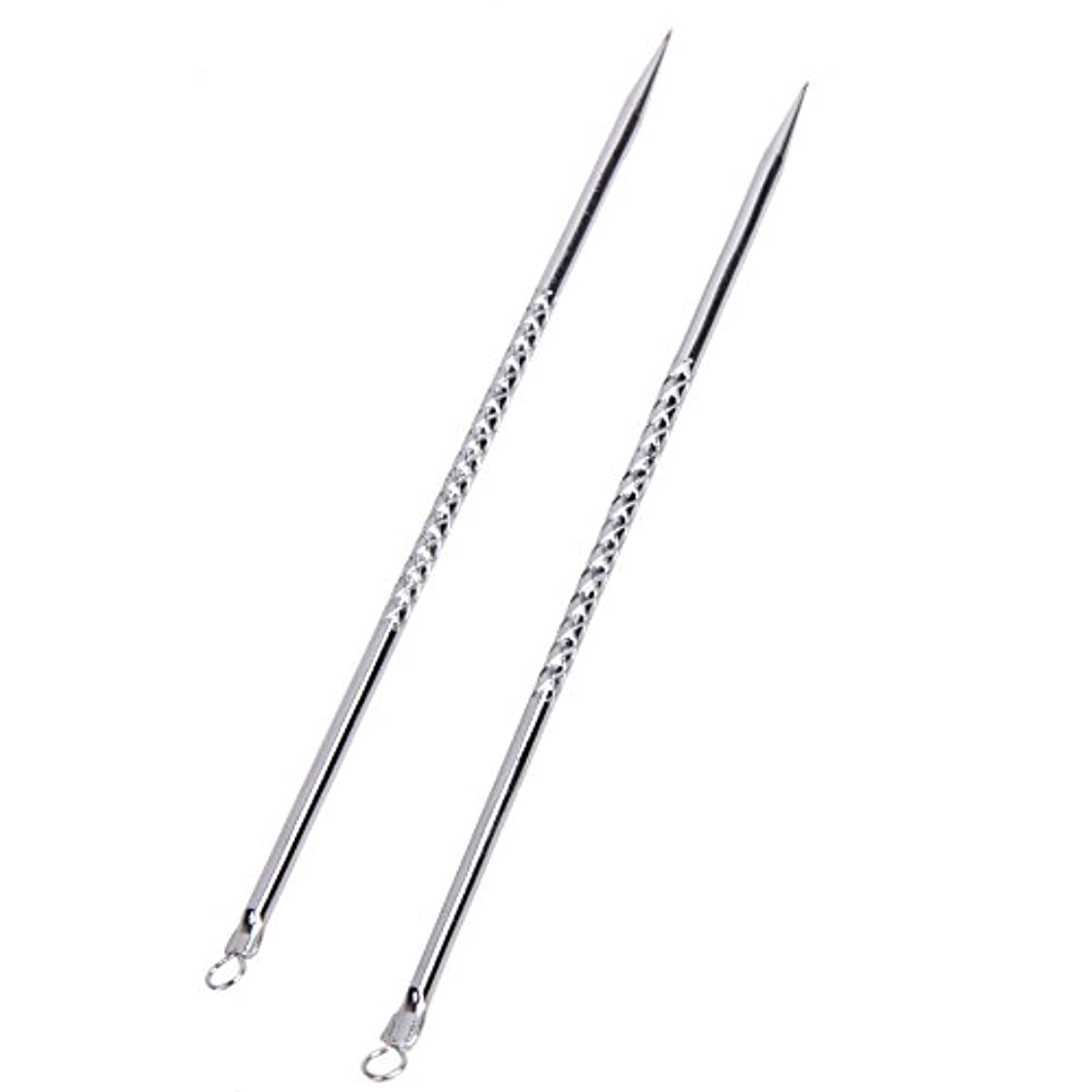 批判的チチカカ湖王室6pcs Blackhead Acne Pimple Remover Tool Extractors