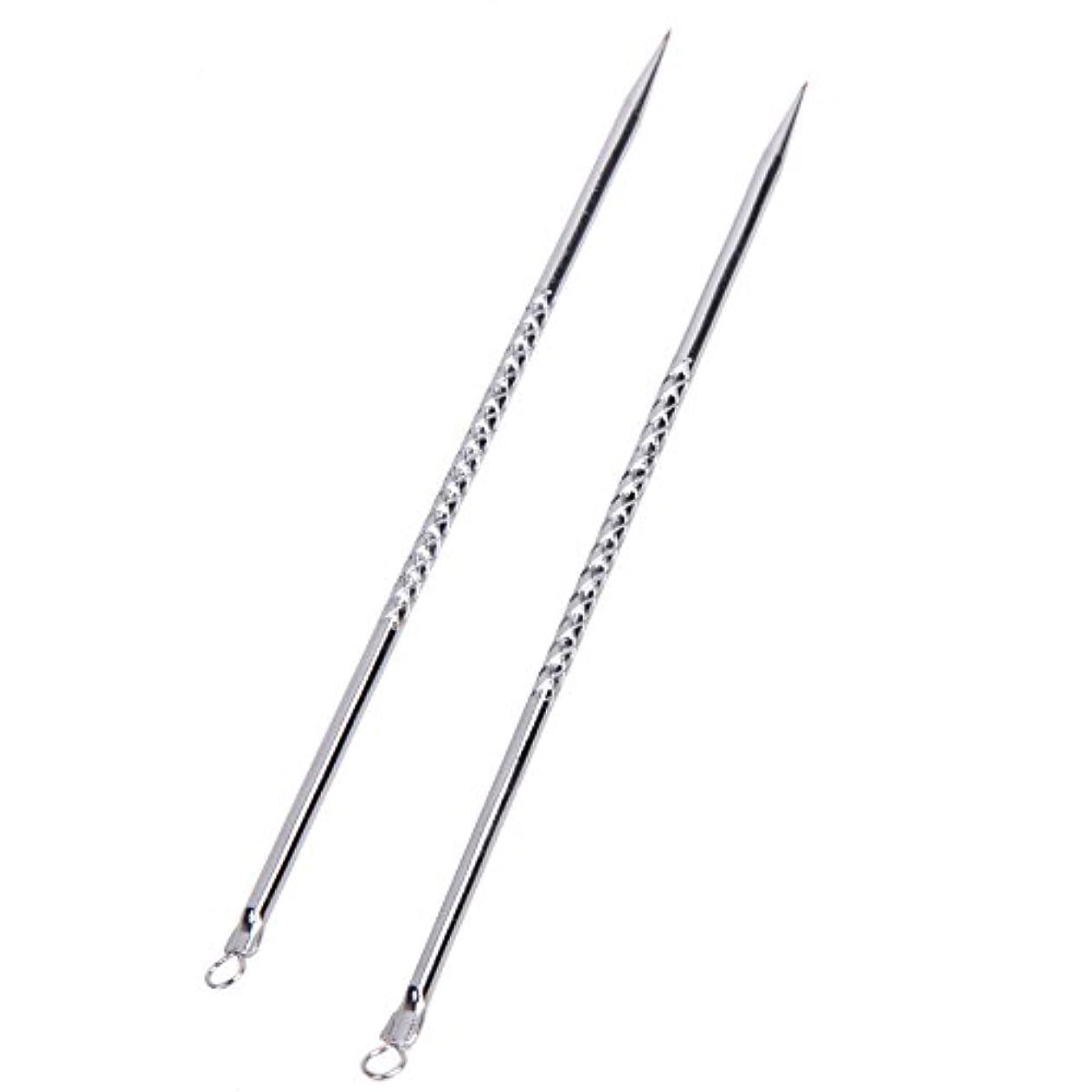 表向きクレーター課税6pcs Blackhead Acne Pimple Remover Tool Extractors
