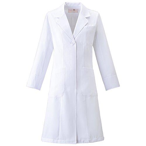 (FOLK) フォーク ワコール レディスコート 女性用 診察衣 白衣 (HI400) ホワイト 3L