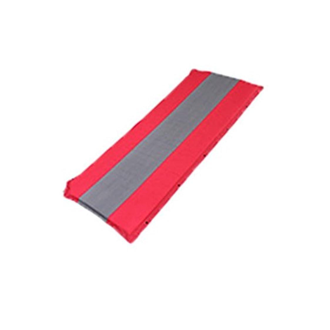 からに変化する代表濃度軽量スリーピングパッド、テントスリーピングパッド、キャンプやハイキングに最適 (Color : Red)