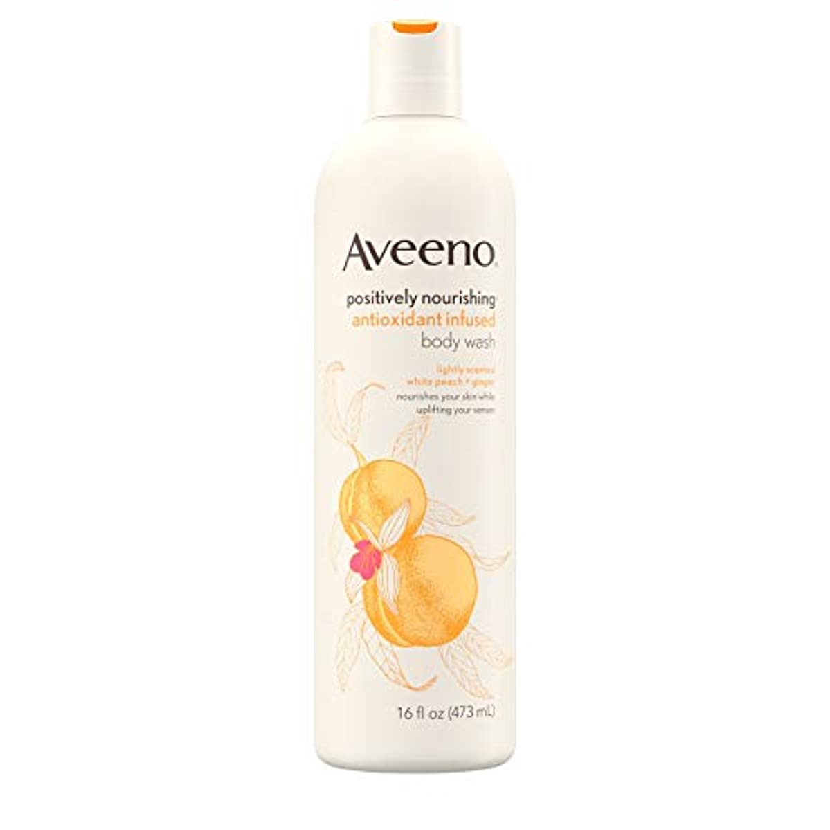 誤解なにプレゼンターAveeno Positively Nourishing Antioxidant Infused Body Wash, 16 Oz by Aveeno