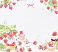 【Manet公式】マネット 苺&うさぎ ブロックメモ メモパッド(苺の森) 300枚セット かわいい ポイントメモ メモ帳 ミニカード【Amazon.co.jp限定】♥AMAZON JAPAN公式ショップ開設記念プロモーション!おまけシール付き♥