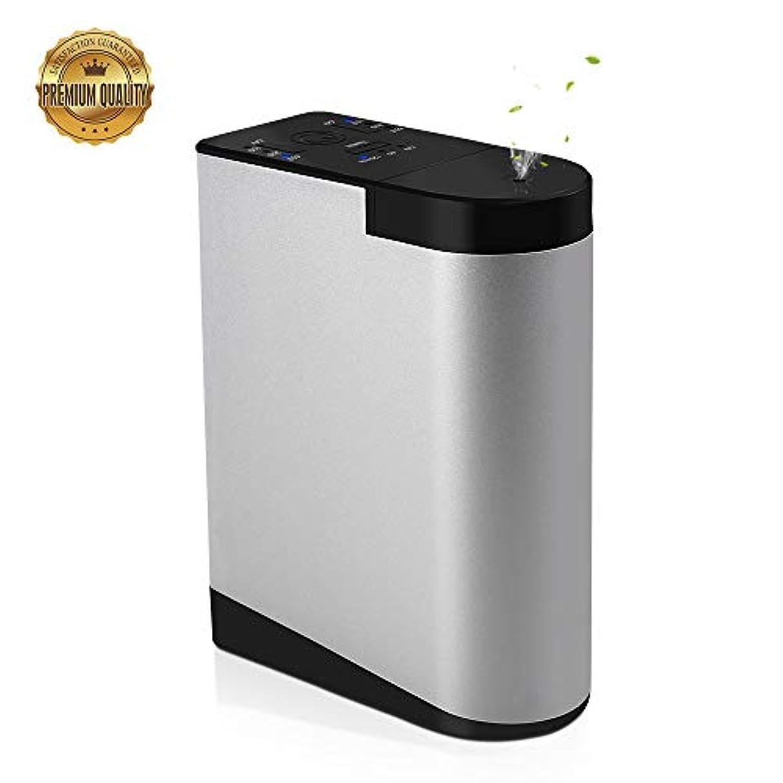 同志梨ペンスCaseceo 水なし 電池式 エッセンシャルオイル ディフューザー充電式と可搬式 家、ビジネス、オフィス 用 アルミニウム合金