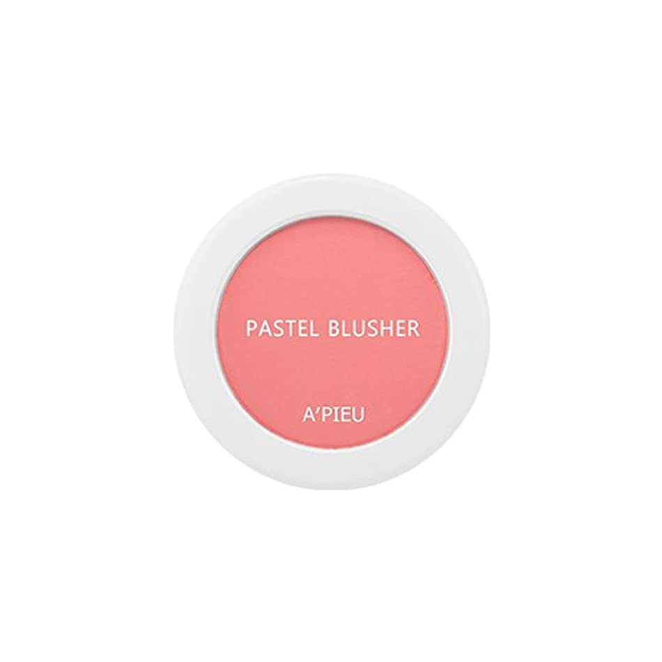 前売合理化神社アピュ[APIEU] Pastel Blusher パステル ブラッシャー (CR01) [並行輸入品]