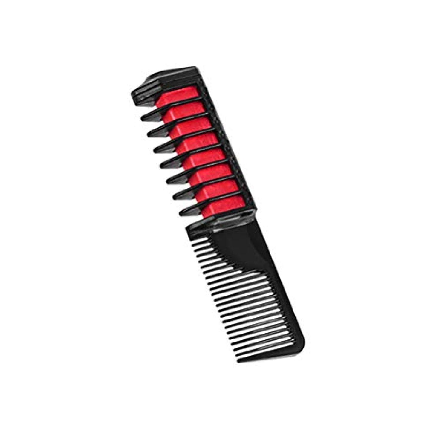 動物園恐れる好意Creacom ヘアダイコーム 快速安全 高品質 手早く 使用簡単 ミニ 使い捨て 塗りやすい 染色ツール ヘアカラーチョークヘア 男女兼用 美髪 美容院用 6色