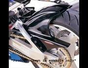 Powerbronze(パワーブロンズ) リアフェンダー(ハガー) ブラック SUZUKI GSXR600 01-03 pbz-300-S112-003