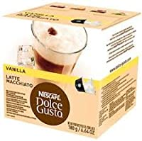 Nescafe Dolce Gusto valilla Latte Macchiato 3パック、3x 16ポッド