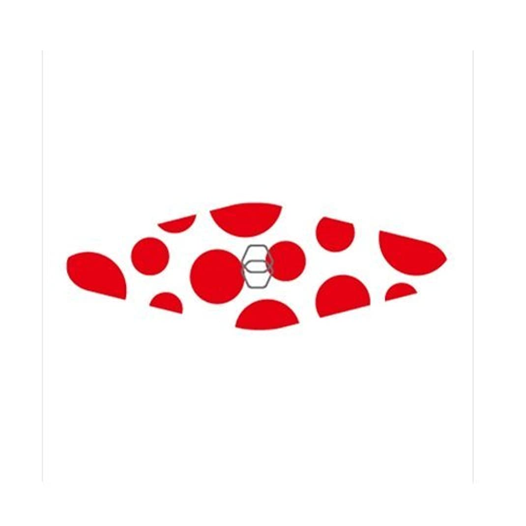 鎖メカニック物理的にGOEI DIAMOND ダイヤモンド爪やすり キャリー(赤ドット)
