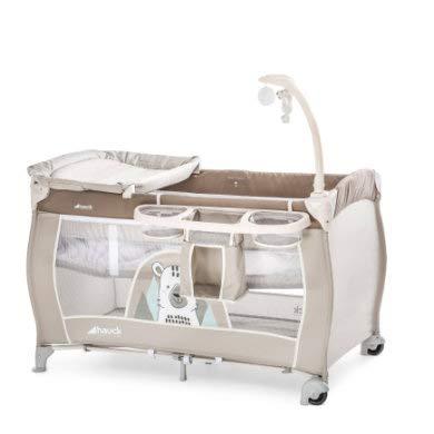 ドイツの名門ハウク・ベビーセンター<Hauck Baby Center>多機能 プレイヤード ヨーロピアン 折畳み 帰省 簡易ベッド キャリーバッグ付 おむつ替え 体重15 kgまで 保証2年 体重15 kg カラーFriend