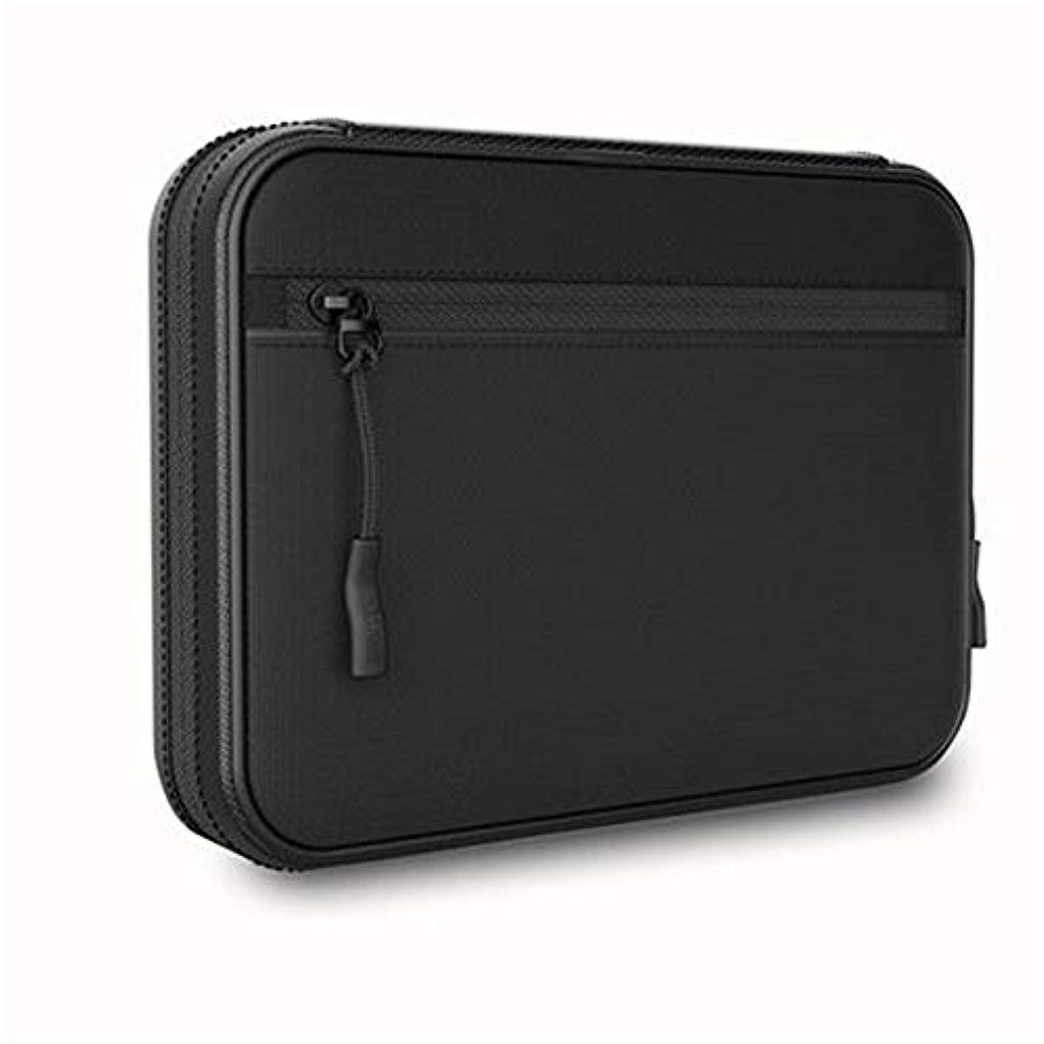 インサートプーノオプション電子アクセサリーオーガナイザーバッグ、電源アダプターケースストレージ、充電アダプター、磁気メモリカード、USBケーブル、コイン、その他の小さなアクセサリーを保持できます。持ち運びが簡単です。