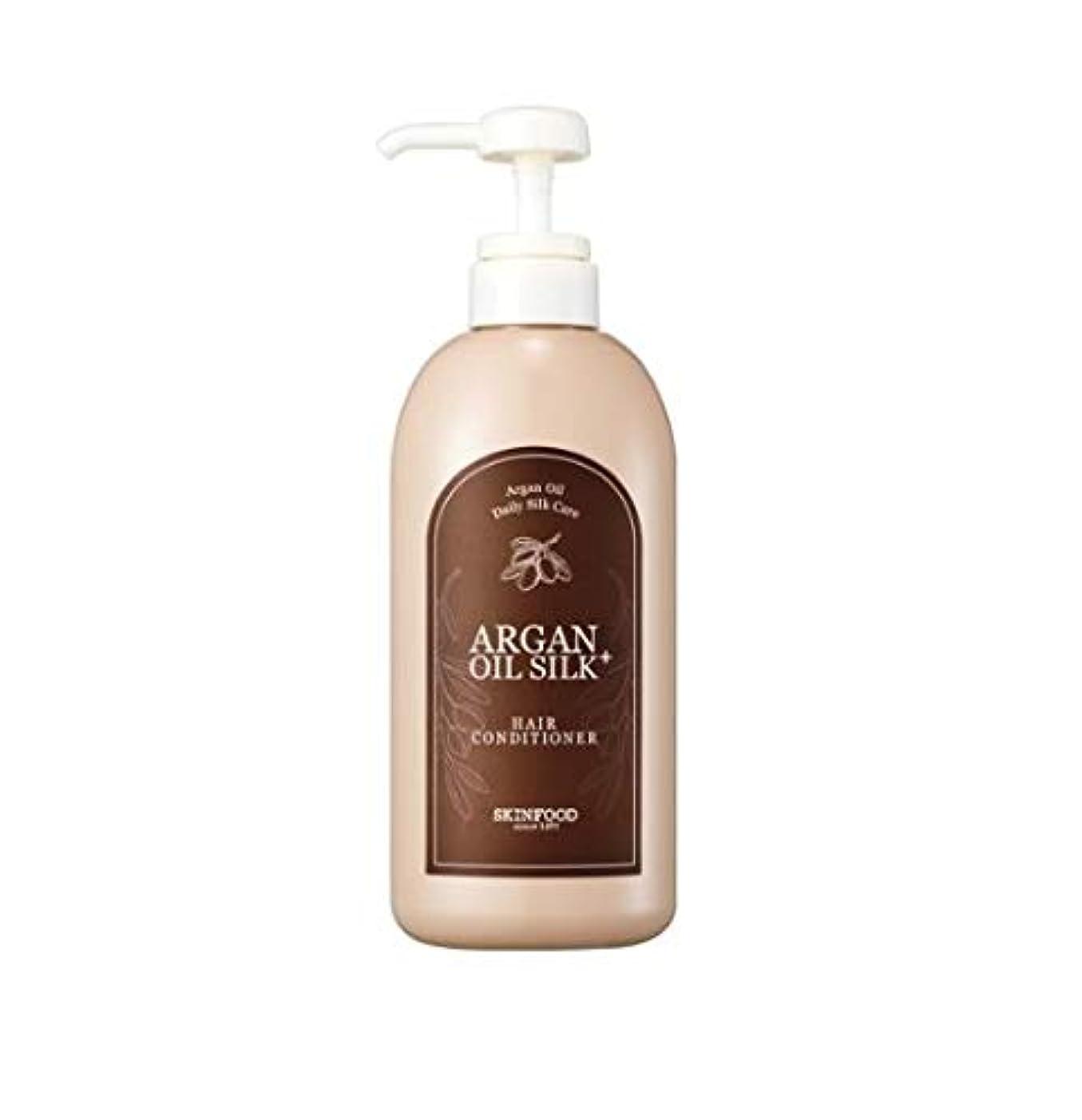 音節膜白雪姫Skinfood アルガンオイルシルクプラスヘアコンディショナー/Argan Oil Silk Plus Hair Conditioner 500ml [並行輸入品]