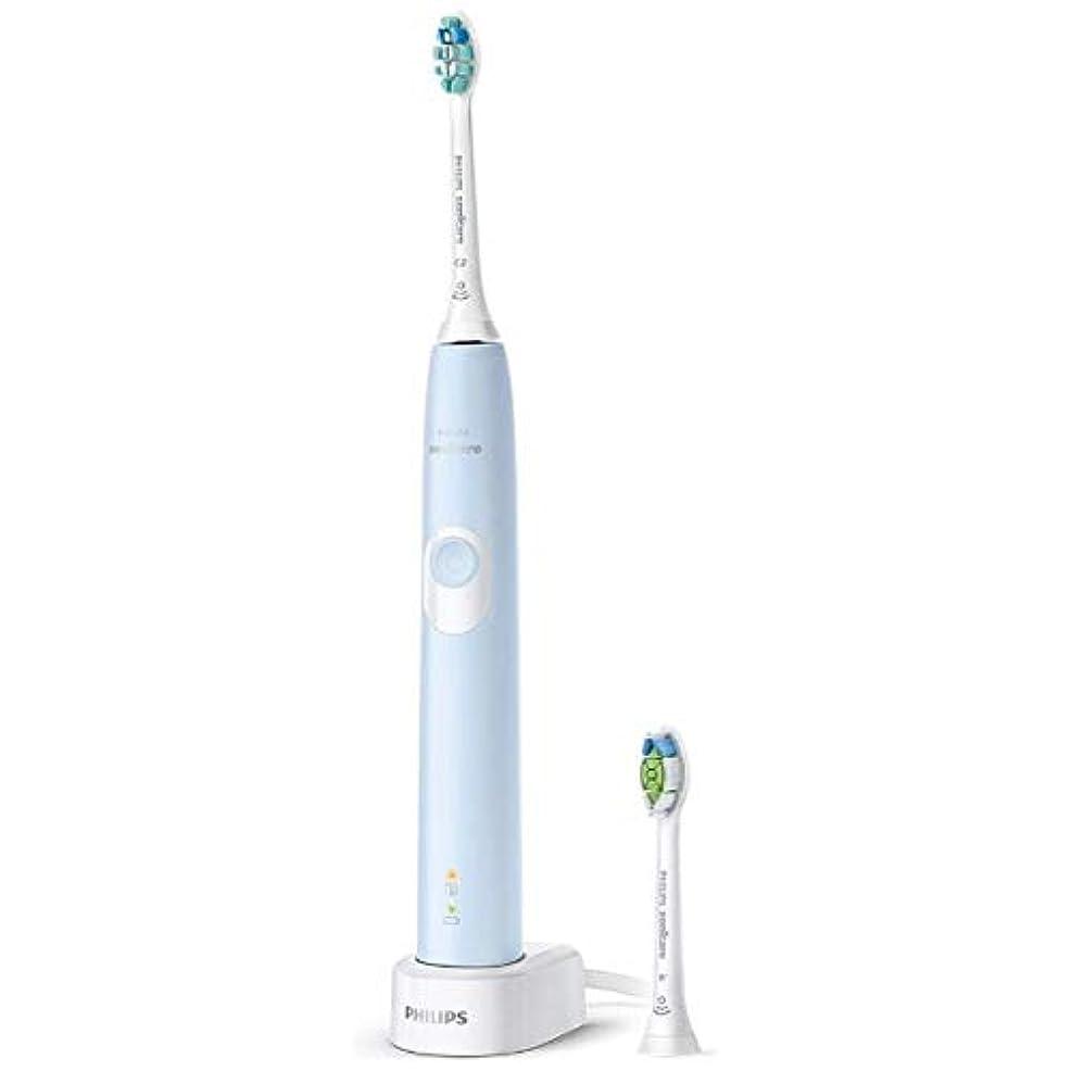 無駄にコンベンション動力学フィリップス 電動歯ブラシ(ライトブルー)PHILIPS sonicare ソニッケアー プロテクトクリーン HX6863/66