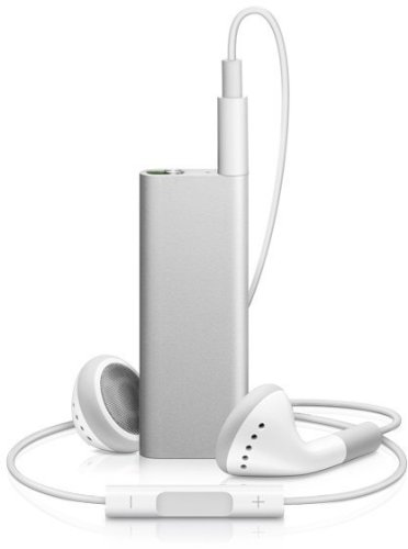 Apple iPod shuffle 第3世代 4GB シルバー MB867J/A