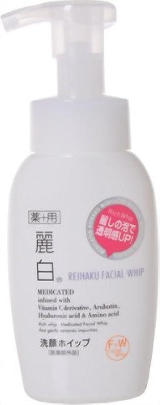 細菌同化する体操麗白 薬用洗顔ホイップ 200ml