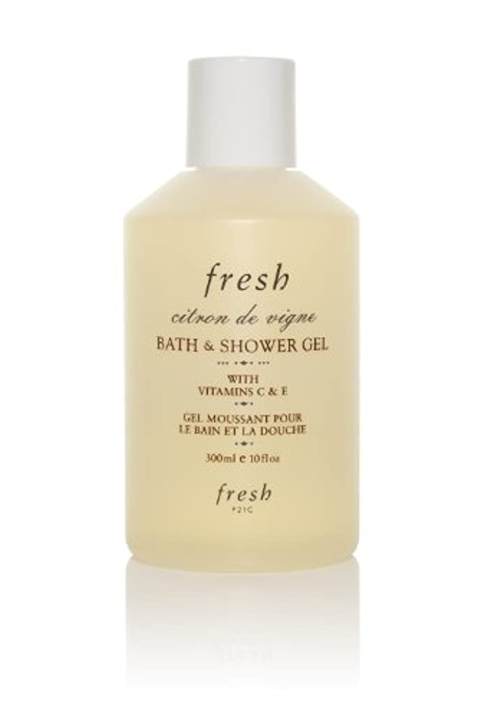 現代の横向き吹きさらしCitron De Vigne Bath & Shower Gel 300ml/10oz