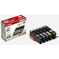 【まとめ 2セット】 Canon BCI-351XL+350XL/5MP 純正インクタンク 大容量 5色マルチパック BCI351XL+350XL5MP