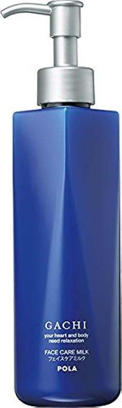 出発する虐待起こりやすいPOLA(ポーラ) GACHI ガチ フェイスケアミルク 乳液 1L 1L 業務用サイズ 詰替え 200mlボトルx3本
