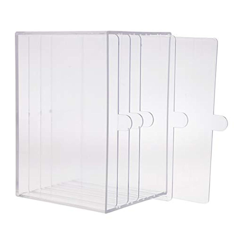 同情綺麗な治すネイルアート ディスプレイケース 収納ボックス ネイルチップ 収納容器 サロンツール プロ用