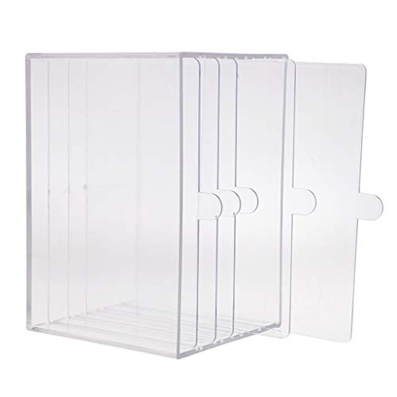 人質細心の遡るHellery ネイルアート ディスプレイケース 収納ボックス ネイルチップ 収納容器 サロンツール プロ用