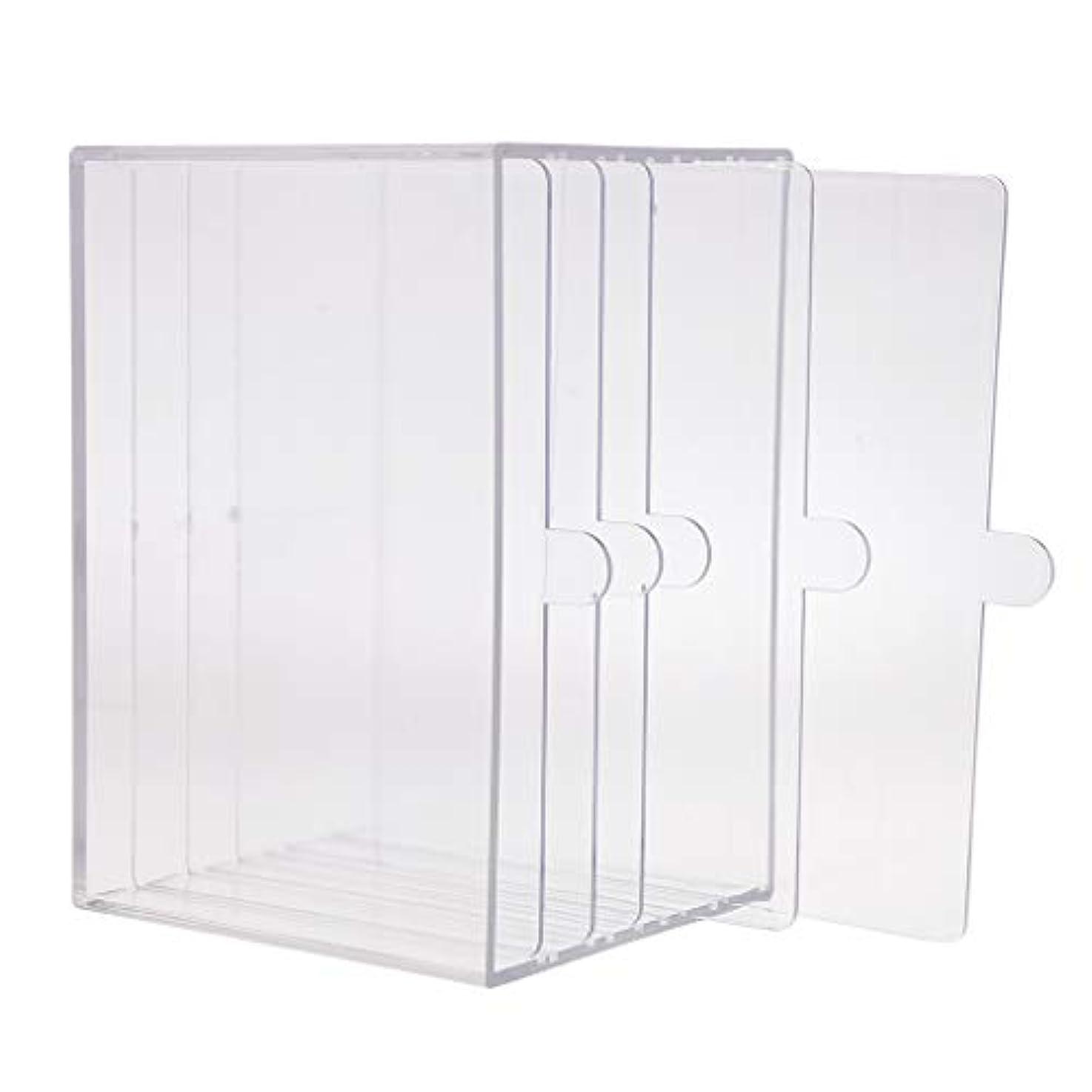 ジョセフバンクス簡単に効率ネイルアート ディスプレイケース 収納ボックス ネイルチップ 収納容器 サロンツール プロ用