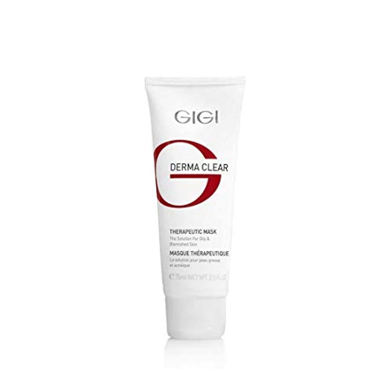 妖精場所柔和GIGI Derma Clear Mask for Oily Skin 75ml