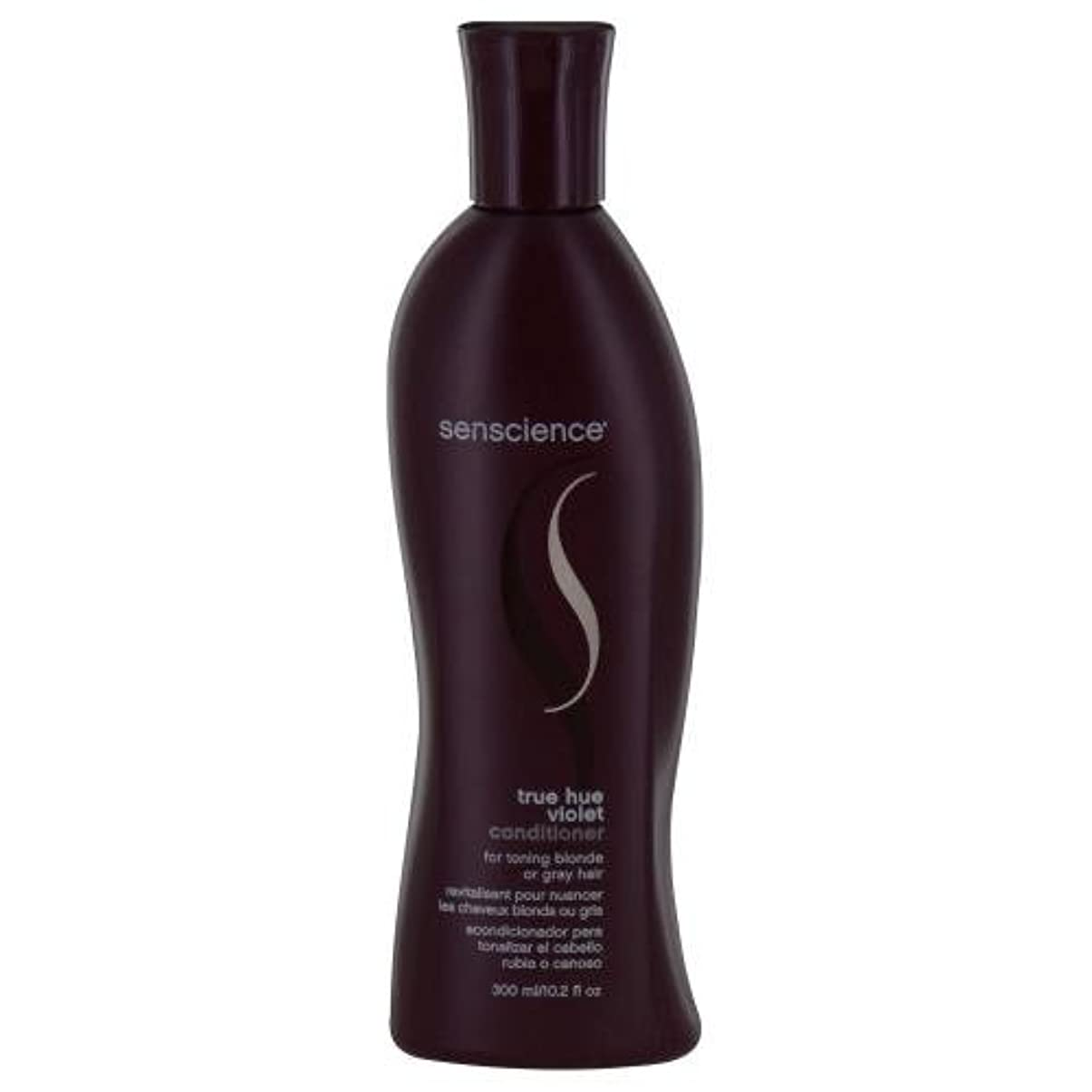 スライスカスケード手のひらby Senscience TRUE HUE VIOLET CONDITIONER (TONING BLONDE/GREY HAIR) 10.2 OZ by SENSCIENCE