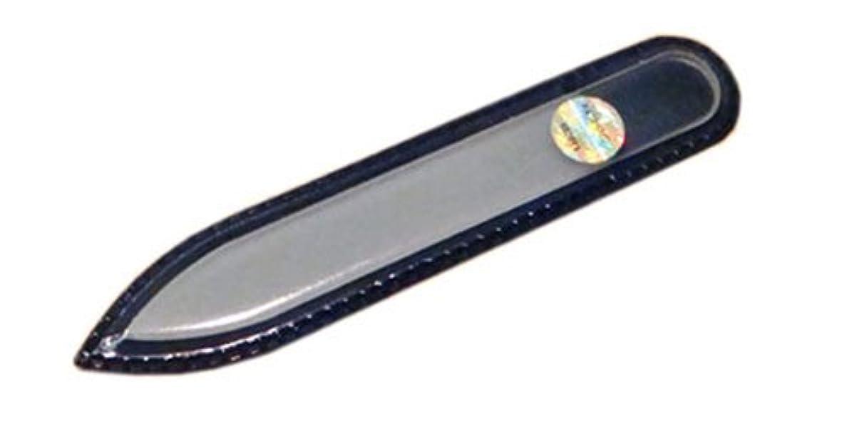 薄める花輪チャールズキージングブラジェク ガラス爪やすり 90mm 両面タイプ(プレーン)