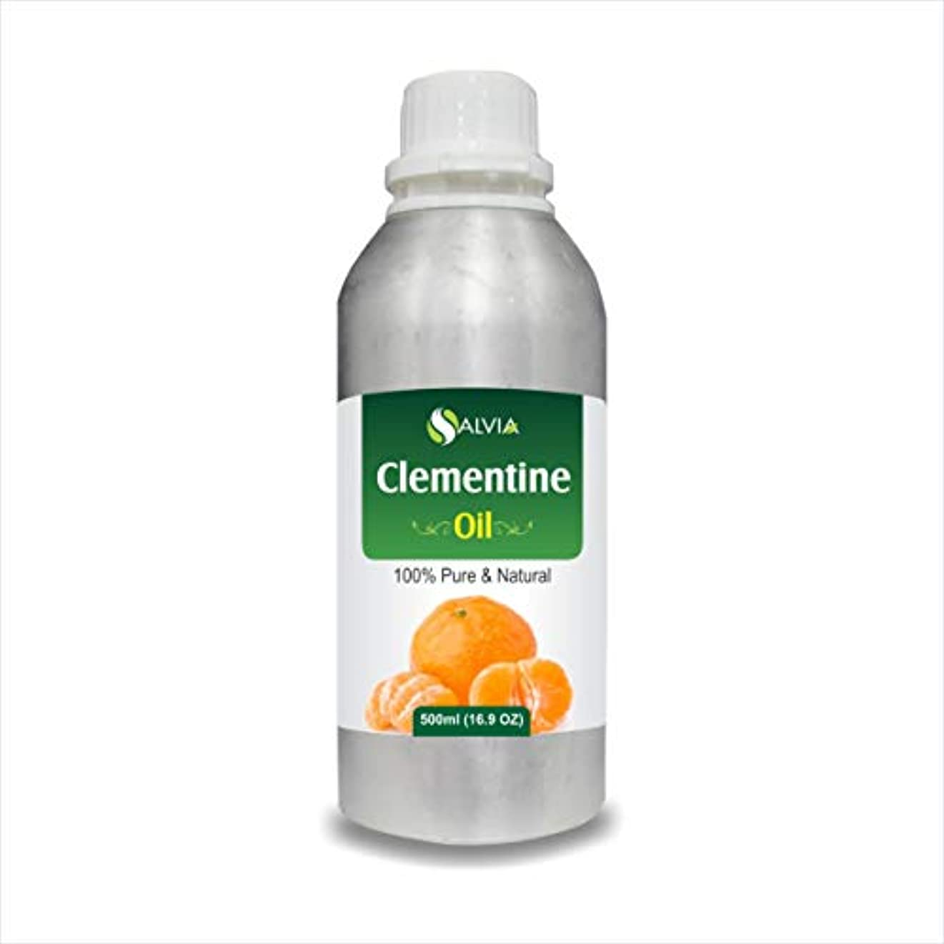 上がる入浴非常にClementine Oil (Citrus Clementine) 100% Natural Pure Undiluted Uncut Essential Oil 500ml