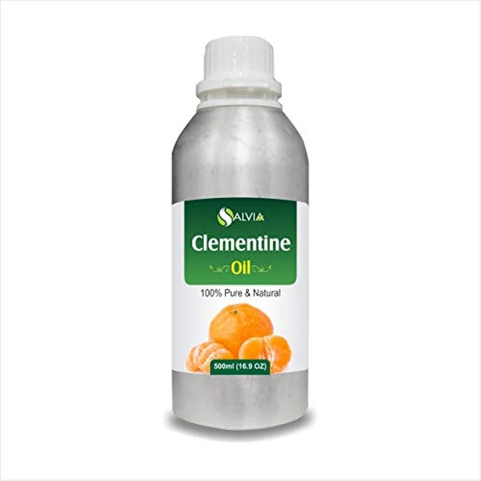 姿を消すバッチ信条Clementine Oil (Citrus Clementine) 100% Natural Pure Undiluted Uncut Essential Oil 500ml