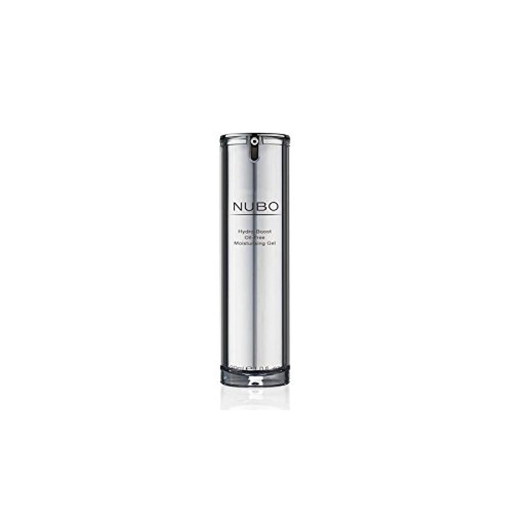 バブル面弱点水力ブーストオイルフリーの保湿ジェル(30ミリリットル) x4 - Nubo Hydro Boost Oil Free Moisturising Gel (30ml) (Pack of 4) [並行輸入品]