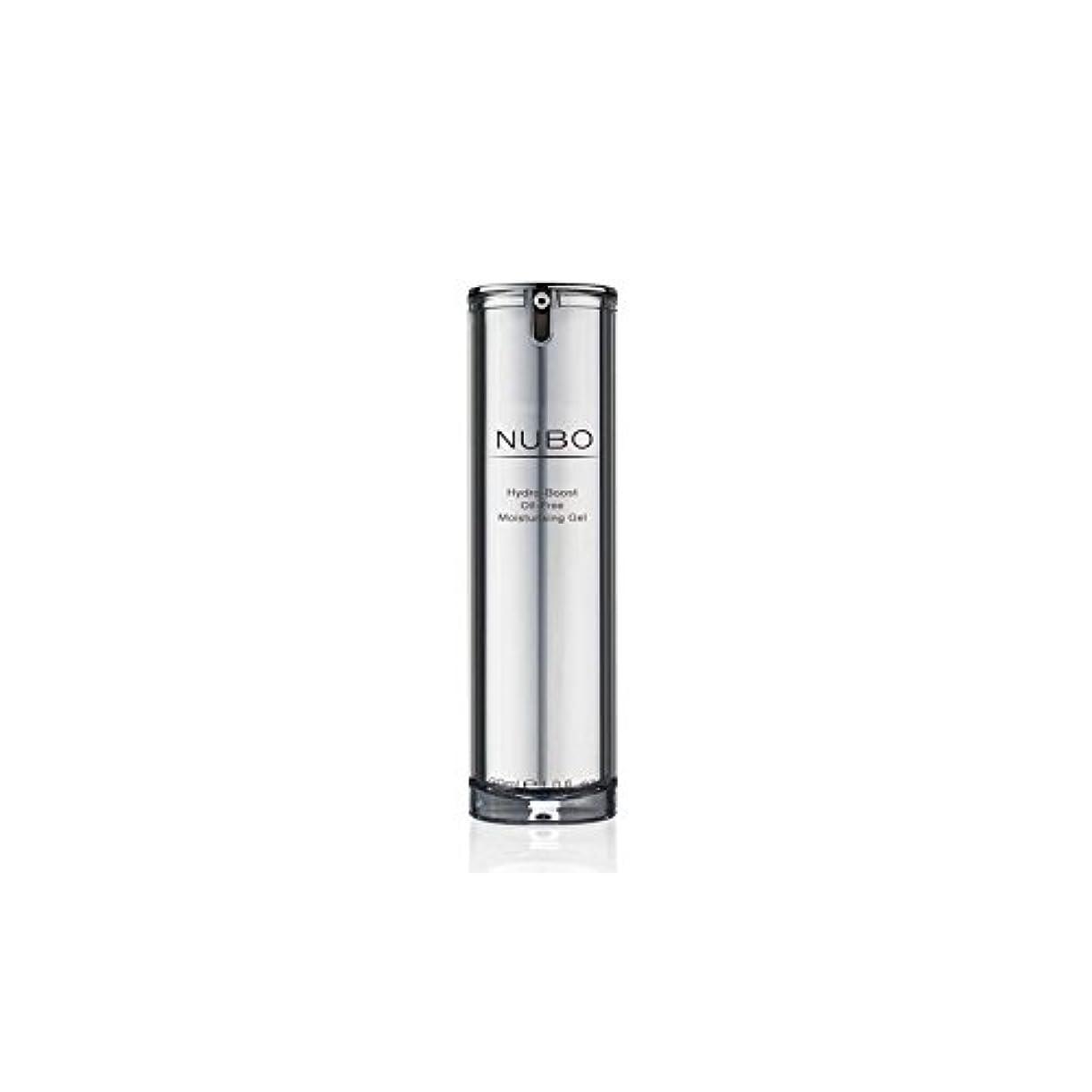 夜合理的慈悲Nubo Hydro Boost Oil Free Moisturising Gel (30ml) (Pack of 6) - 水力ブーストオイルフリーの保湿ジェル(30ミリリットル) x6 [並行輸入品]