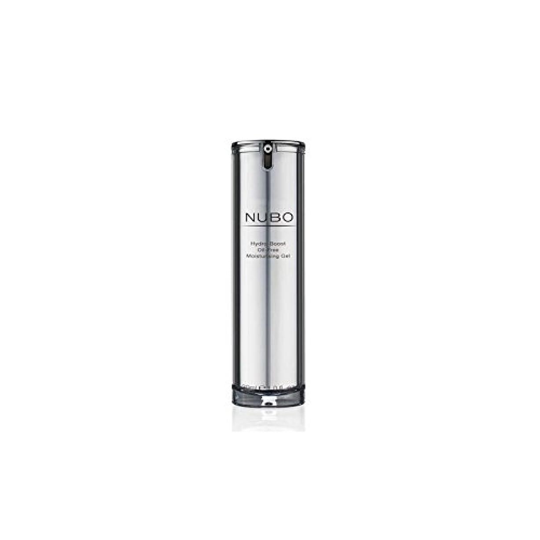平和千驚くばかり水力ブーストオイルフリーの保湿ジェル(30ミリリットル) x4 - Nubo Hydro Boost Oil Free Moisturising Gel (30ml) (Pack of 4) [並行輸入品]