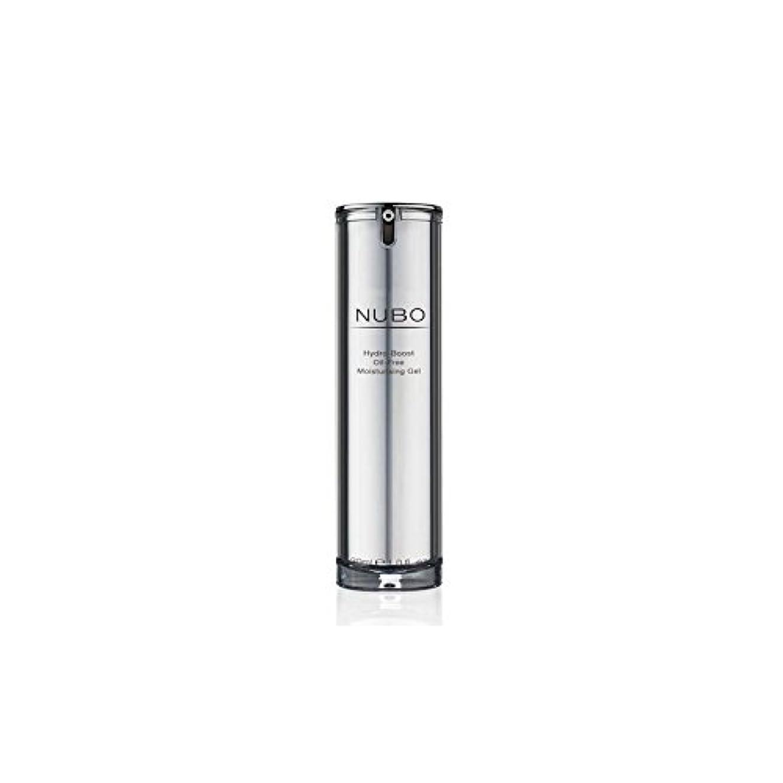 泥沼光カニ水力ブーストオイルフリーの保湿ジェル(30ミリリットル) x4 - Nubo Hydro Boost Oil Free Moisturising Gel (30ml) (Pack of 4) [並行輸入品]