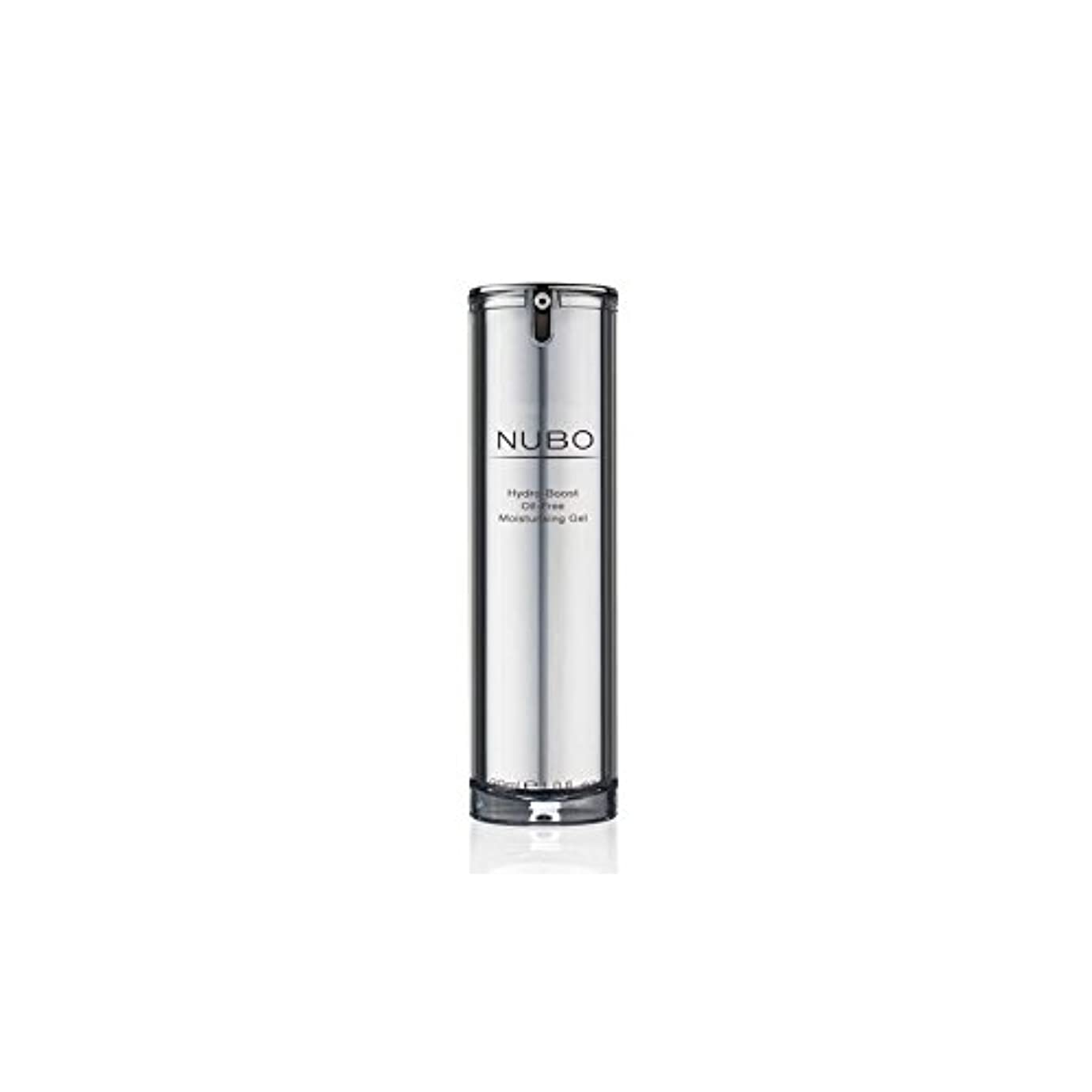 男らしさ電子レンジピルNubo Hydro Boost Oil Free Moisturising Gel (30ml) (Pack of 6) - 水力ブーストオイルフリーの保湿ジェル(30ミリリットル) x6 [並行輸入品]