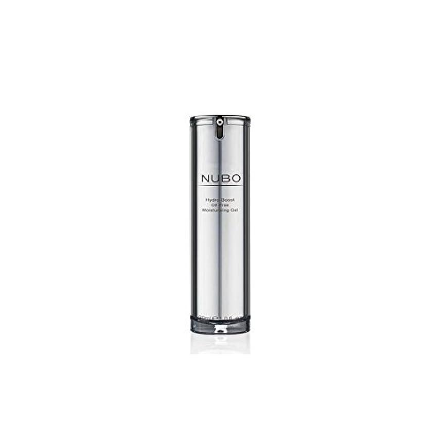 男やもめ電極東部Nubo Hydro Boost Oil Free Moisturising Gel (30ml) (Pack of 6) - 水力ブーストオイルフリーの保湿ジェル(30ミリリットル) x6 [並行輸入品]