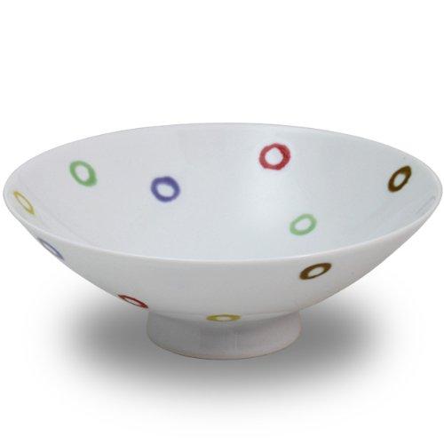 白山陶器 平茶わん 白磁 (約)φ15×5.3cm  AB-10 森正洋デザイン 波佐見焼 日本製
